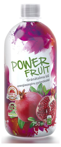 Absolut-Live PowerFruit diabetikus üdítők #Gránátalma 750ml