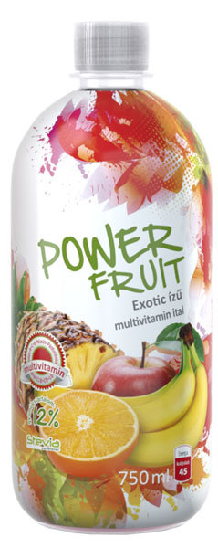 Absolut-Live PowerFruit diabetikus üdítők #Multivitamin 750ml