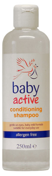 BABY ACTIVE Sampon 250ml