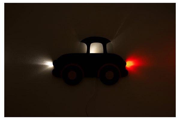 Amyma álomlámpa #piros autó