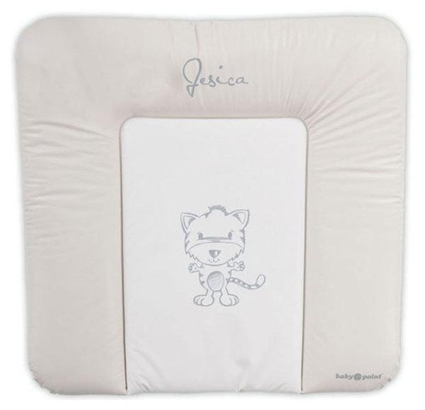 BabyPoint Jessica pelenkázólap 70x70 #bézs tigrises