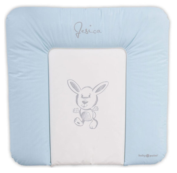 BabyPoint Jessica pelenkázólap 70x70 #kék nyuszis