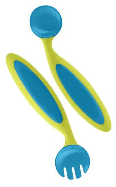 Boon Benders Evőeszköz készlet zöld-kék #100128
