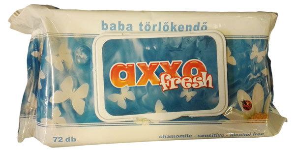 AXXO Sensitive kupakos popsitörlő 72db