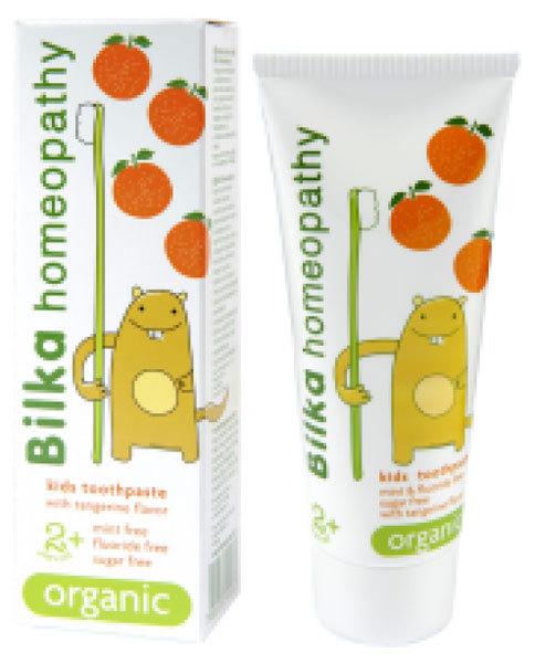 Bilka organikus gyermekfogkrém mandarin 2 éves kortól 50 ml