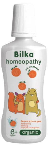 BILKA Organic 6 gyermekszájvíz mandarin ízű