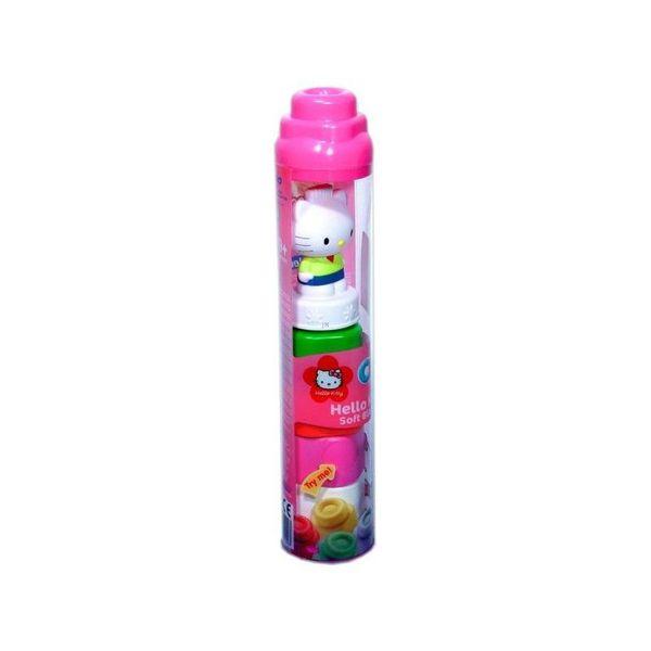 CLEMENTONI MySoft world Hello Kitty toronyépítő