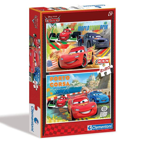 CLEMENTONI Puzzle 2x20 Verdák #07005