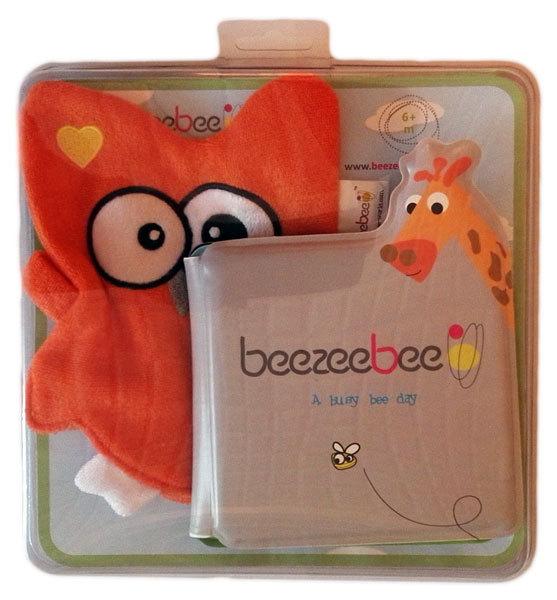 BeeZeeBee Fürdős könyv bábbal baglyos #100223