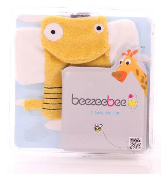 BeeZeeBee Fürdős könyv bábbal méhecske #100222