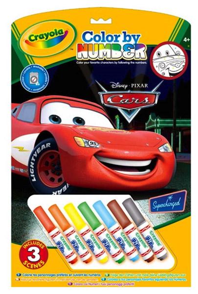 Crayola 3 lapos szám szerinti kifestő #55521