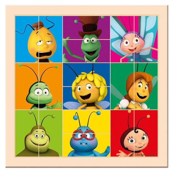 Bino arcfelező puzzle játék - Maja a méhecske #13629