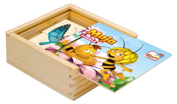 Bino puzzle játék - Maja a méhecske #13620