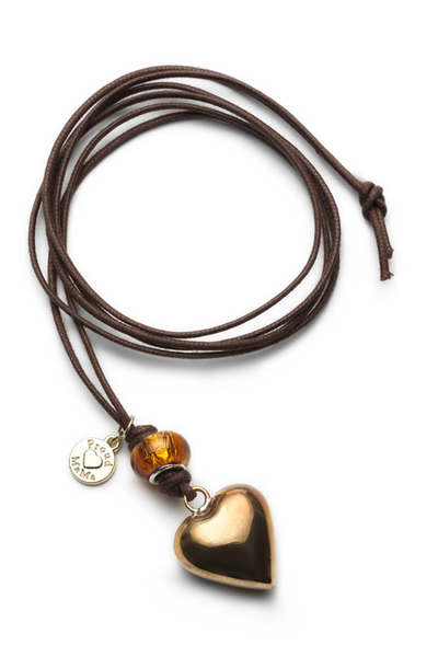 BABYBELL Basic nyaklánc szív arany #ID244