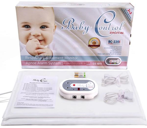 Baby Control BC-220i légzésfigyelő