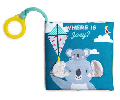 Taftoys puha bébikönyv #Hol van Joey? #12595