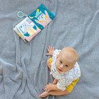 Taftoys puha bébikönyv #Mit visel Paul? #12605