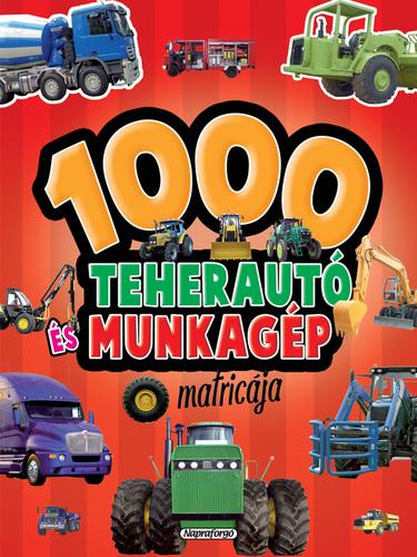 Könyv - 1000 teherautó és munkagép