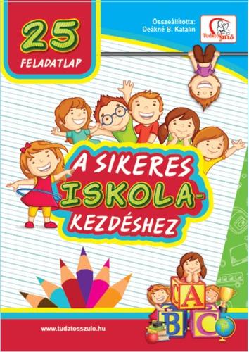 Könyv - 25 feladatlap a sikeres iskolakezdéshez