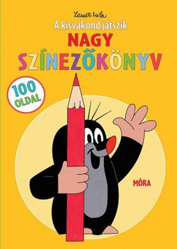 Könyv - A kisvakond játszik - színezőkönyv