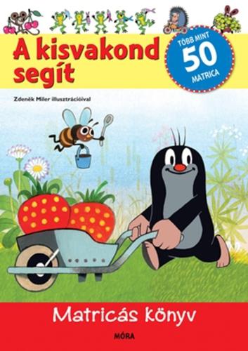 Könyv - A Kisvakond segít - matricásfüzet