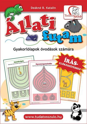 Könyv - Állati futam - munkafüzet