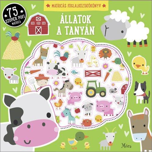 Csak Klubtagoknak! Könyv - Állatok a tanyán matricákkal