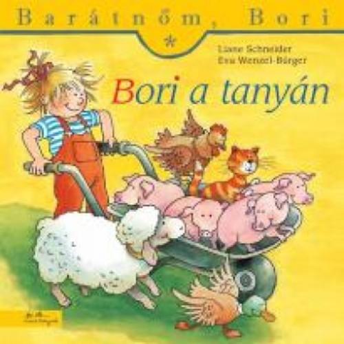 Könyv - Barátnőm, Bori - Bori a tanyán