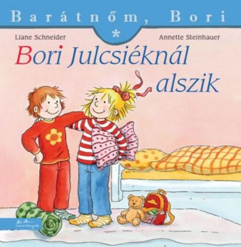 Könyv - Barátnőm, Bori - Bori Julcsiéknál alszik