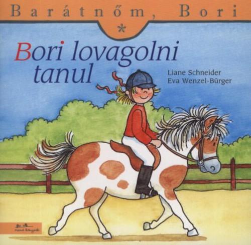 Könyv - Barátnőm, Bori - Bori lovagolni tanul