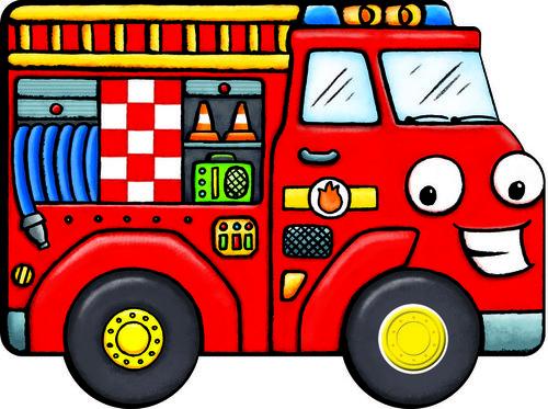 Könyv - Berregő járművek - Tűzoltóautó
