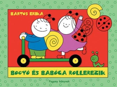 Könyv - Bogyó és Babóca rolleren