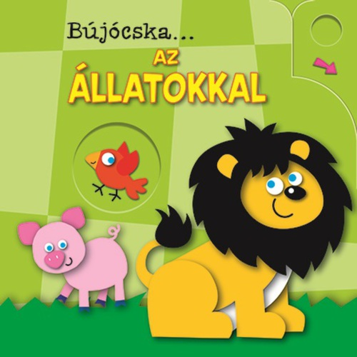 Könyv - Bújócska...az állatokkal