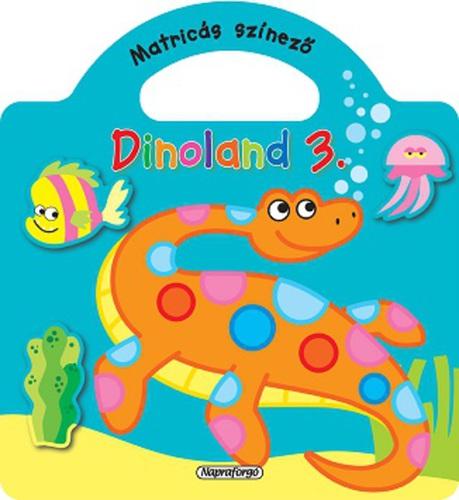 Könyv - Dinoland 3. zöld