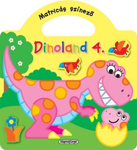 Könyv - Dinoland 4. sárga
