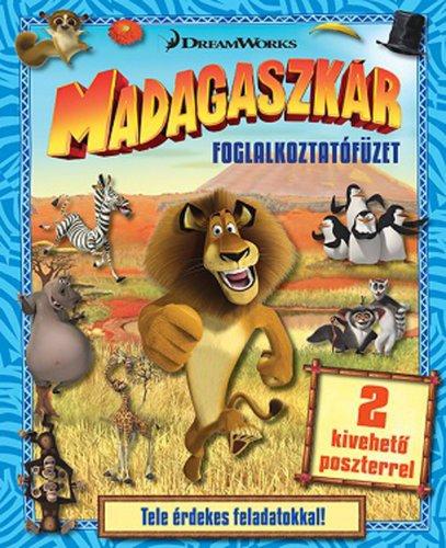Könyv - DWA Madagaszkár - foglalkoztatófüzet