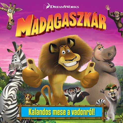 Könyv - DWA Madagaszkár - mesekönyv