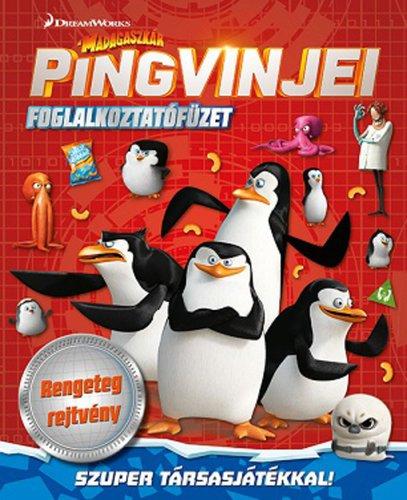 Könyv - DWA Madagaszkár pingvinjei - foglalkoztatófüzet