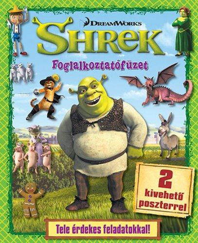 Könyv - DWA Shrek - foglalkoztatófüzet