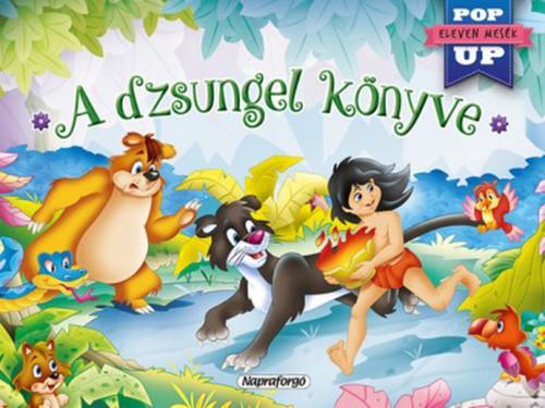 Könyv - Eleven mesék - A dzsungel könyve