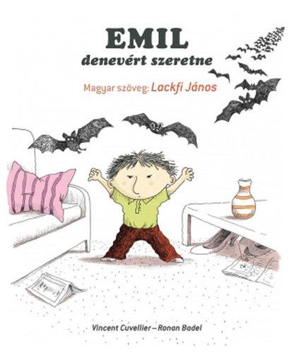 Könyv - Emil denevért szeretne
