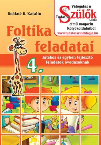 Könyv - Foltika feladatai 4.