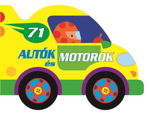 Könyv - Guruló kerekek - Autók és motorok