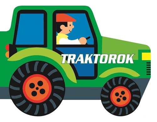 Könyv - Guruló kerekek - Traktorok