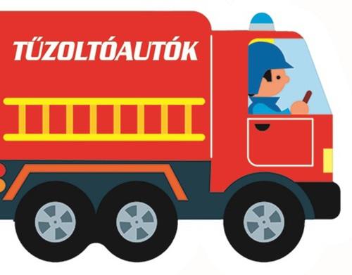 Könyv - Guruló kerekek - Tűzoltóautók