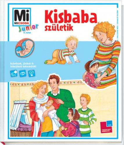 Könyv - Junior Kisbaba születik