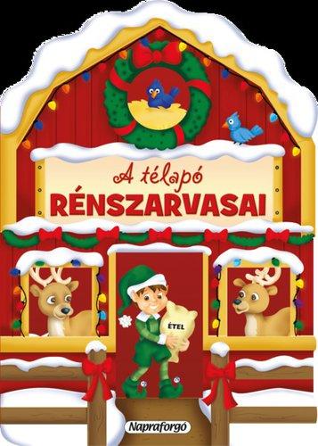 Könyv - Karácsonyi lapozó - A Télapó rénszarvasai