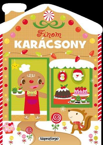 Könyv - Karácsonyi lapozó - Finom karácsony