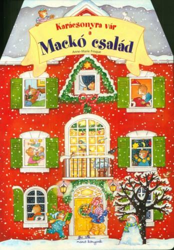Könyv - Karácsonyra vár a Mackó család