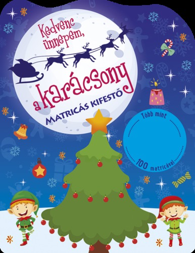 Könyv - Kedvenc ünnepem a karácsony